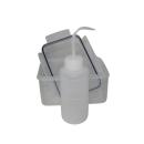 Aufbewahrungsbox mit LDPE-Kunststoff Flasche