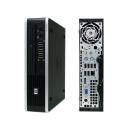 HP Compaq 8000 Elite USDT usff Core 2 Duo 4GB RAM 160 GB...