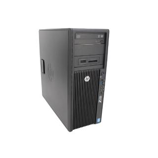 HP Z420 Workstation Xeon E5-1650 @ 6x 3,2 GHz 8GB RAM 500GB HDD Quadro NVS 510 Windows 10