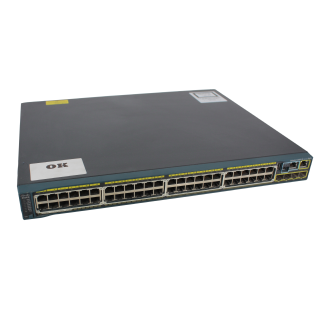Catalyst 2960S 48 GigE PoE 370 W, 4 x SFP-LAN-Base