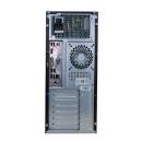 Mini Tower PC Core 2 Quad Q8300 @ 2,5 GHz Asus P5QL- CM 4GB 80GB HDD DVD